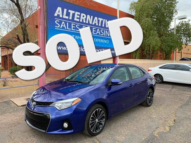 2016 Toyota Corolla S 5 YEAR/60,000 MILE FACTORY POWERTRAIN WARRANTY Mesa, Arizona