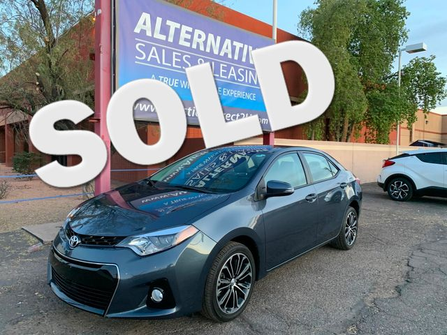 2016 Toyota Corolla S PLUS 5 YEAR/60,000 MILE NATIONAL POWERTRAIN WARRANTY Mesa, Arizona