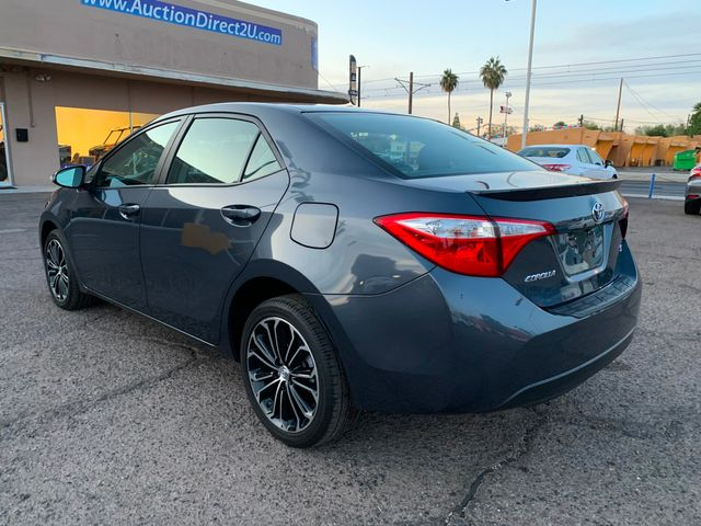2016 Toyota Corolla S PLUS 5 YEAR/60,000 MILE NATIONAL POWERTRAIN WARRANTY Mesa, Arizona 2