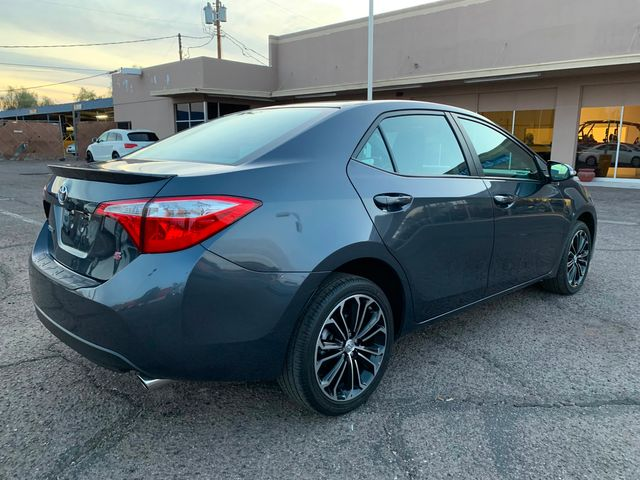 2016 Toyota Corolla S PLUS 5 YEAR/60,000 MILE NATIONAL POWERTRAIN WARRANTY Mesa, Arizona 4