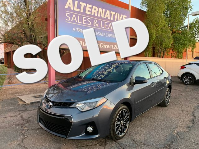 2016 Toyota Corolla S Plus 5 YEAR/60,000 MILE FACTORY POWERTRAIN WARRANTY Mesa, Arizona