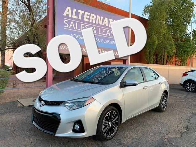 2016 Toyota Corolla S Plus 5 YEAR/60,000 MILE FACTORY POWERTRAIN WARRANTY Mesa, Arizona