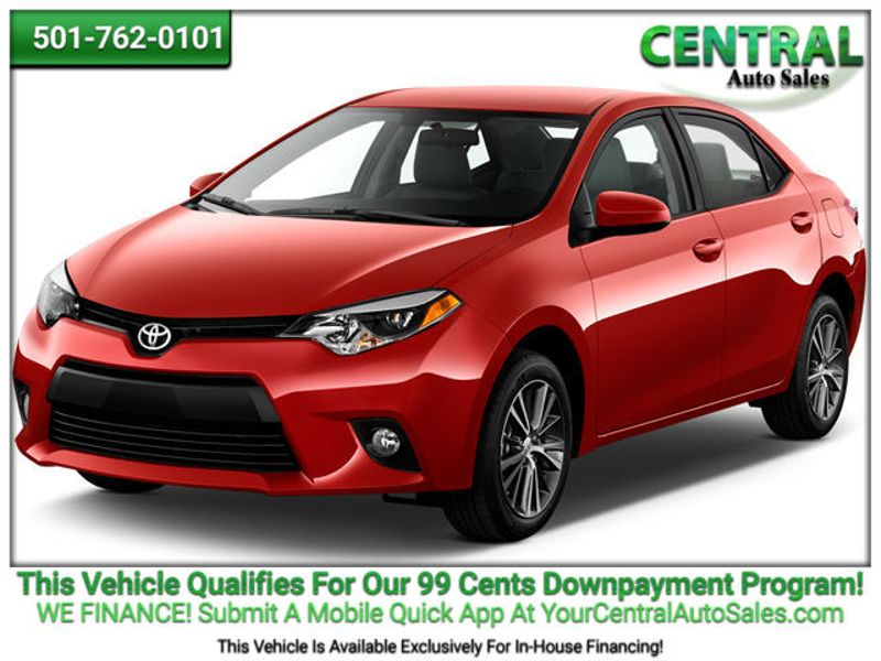 2016 Toyota COROLLA/SD  | Hot Springs, AR | Central Auto Sales in Hot Springs AR