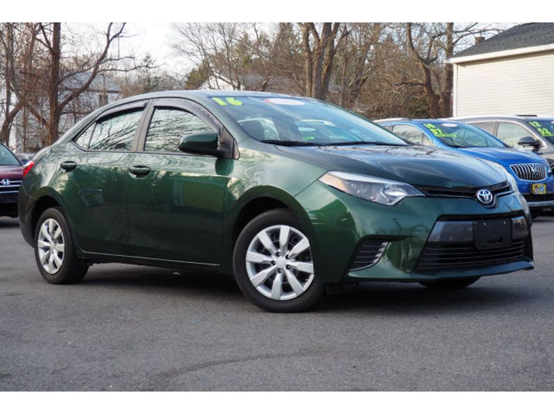 2016 Toyota Corolla LE | Whitman, MA | Martin's Pre-Owned Auto Center
