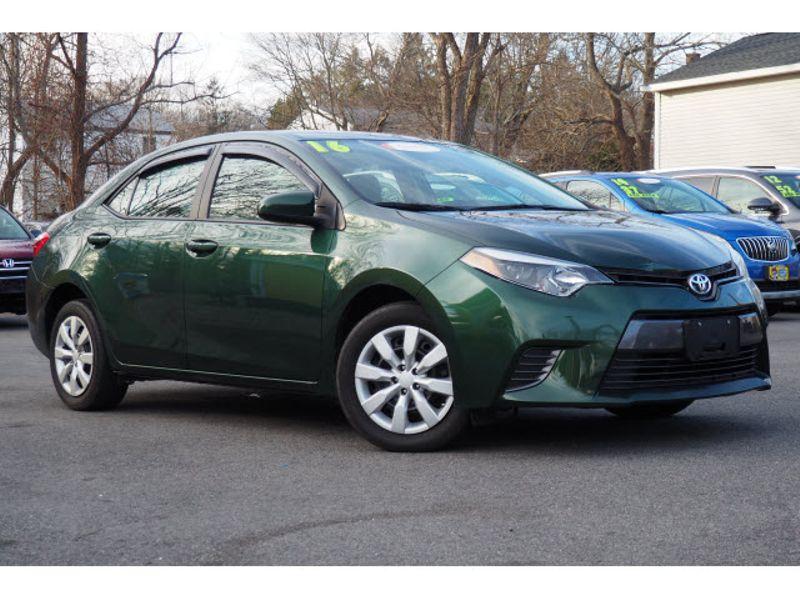 2016 Toyota Corolla LE | Whitman, MA | Martin's Pre-Owned Auto Center