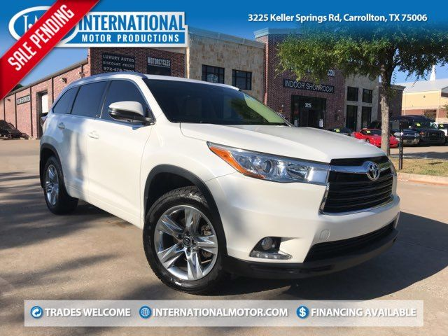 2016 Toyota Highlander Limited ONE OWNER