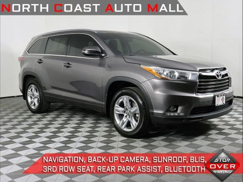 2016 Toyota Highlander Limited in Cleveland, Ohio