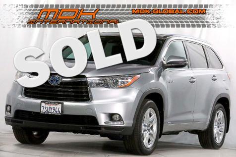 2016 Toyota Highlander Hybrid Limited Platinum - AWD - Navigation in Los Angeles
