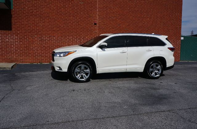 2016 Toyota Highlander Limited TECHNOLOGY