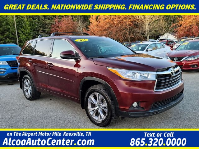 "2016 Toyota Highlander LE Plus FWD 3.5L V6 w/18"" Aluminum Wheels in Louisville, TN 37777"