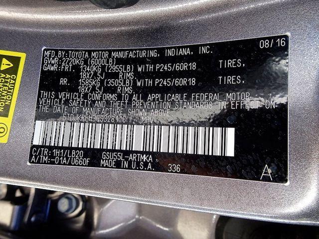 2016 Toyota Highlander XLE Madison, NC 55