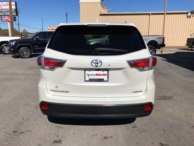 2016 Toyota Highlander Limited in Marble Falls, TX 78654