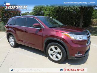 2016 Toyota Highlander Limited in McKinney, Texas 75070