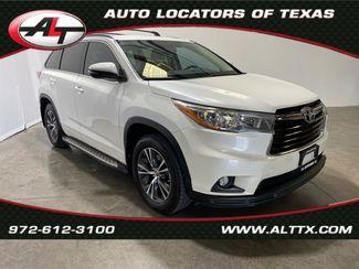 2016 Toyota Highlander XLE in Plano, TX 75093