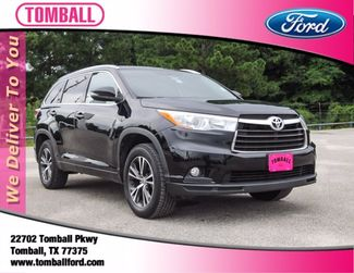 2016 Toyota Highlander XLE in Tomball, TX 77375