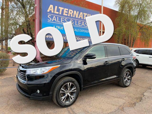 2016 Toyota Highlander XLE 3 MONTH/3,000 MILE NATIONAL POWERTRAIN WARRANTY Mesa, Arizona