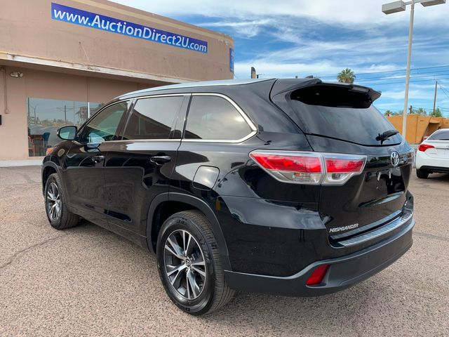 2016 Toyota Highlander XLE 3 MONTH/3,000 MILE NATIONAL POWERTRAIN WARRANTY Mesa, Arizona 2