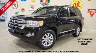 2016 Toyota Land Cruiser ROOF,NAV,F&SIDE CAM,REAR DVD,HTD/COOL LTH,23K! in Carrollton TX, 75006