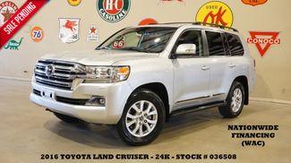 2016 Toyota Land Cruiser ROOF,NAV,F&SIDE CAM,REAR DVD,HTD/COOL LTH,24K in Carrollton, TX 75006
