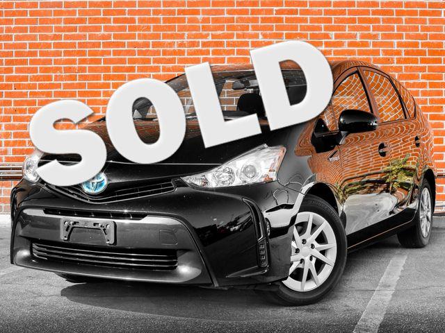2016 Toyota Prius v Two Burbank, CA 0