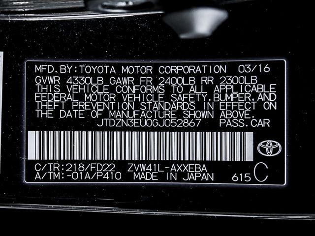 2016 Toyota Prius v Two Burbank, CA 27