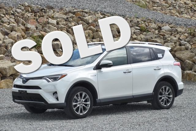 2016 Toyota RAV4 Hybrid Limited Naugatuck, Connecticut