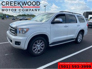 2016 Toyota Sequoia Platinum 4x4 Pearl White TV/DVD Nav Sunroof 1Owner in Searcy, AR 72143