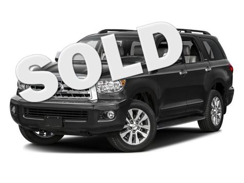 2016 Toyota Sequoia Limited in