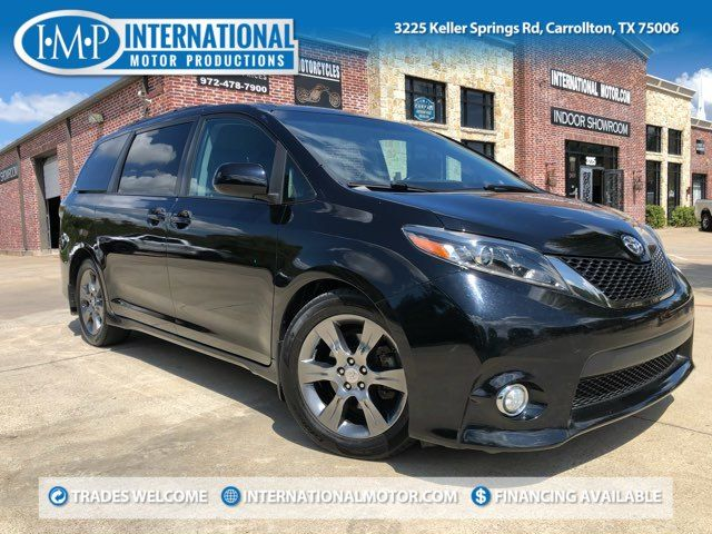 2016 Toyota Sienna SE ONE OWNER
