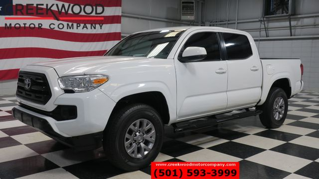 2016 Toyota Tacoma SR 2WD Double Cab White Automatic New Tires CLEAN