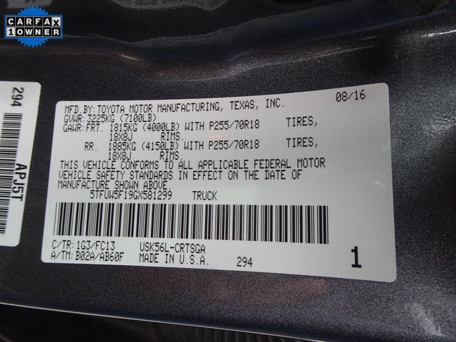 2016 Toyota Tundra SR5 Madison, NC 53