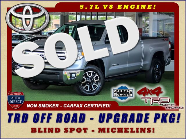 2016 Toyota Tundra SR5 Double Cab 4x4 TRD OFF ROAD - BLIND SPOT! Mooresville , NC