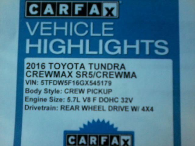 2016 Toyota Tundra SR5 CrewMax 4x4 San Antonio, Texas 30
