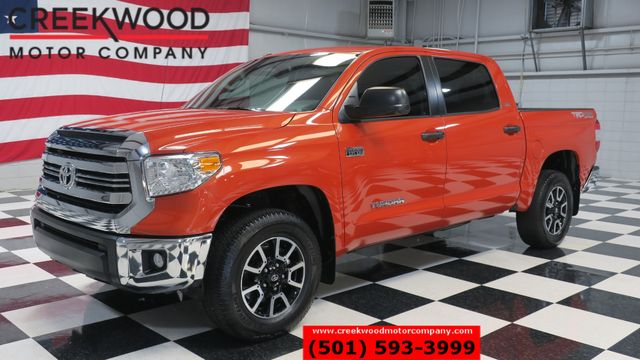 2016 Toyota Tundra SR5 TRD Off Road Crew Max Orange Nav 1 Owner CLEAN in Searcy, AR 72143