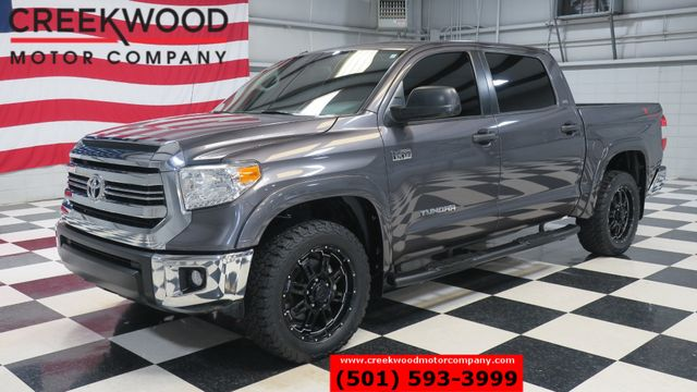 2016 Toyota Tundra SR5 TSS 4x4 Crew Max 1 Owner 20s Leather Low Miles