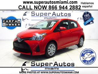 2016 Toyota Yaris L in Doral FL, 33166