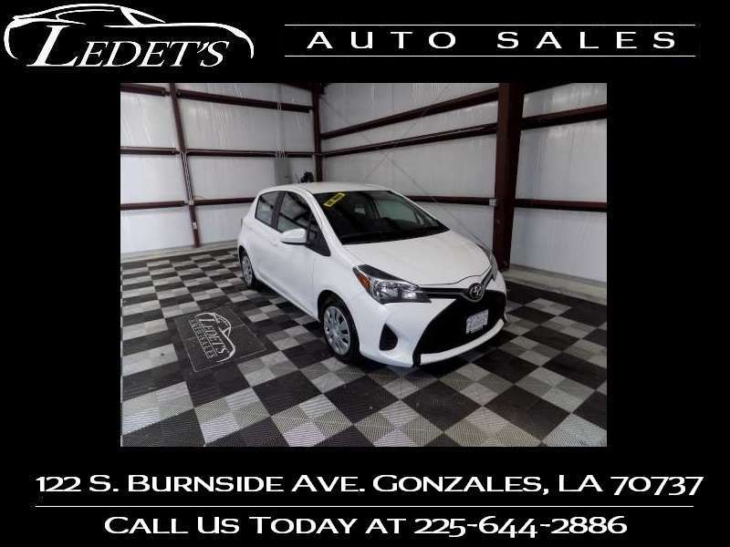 2016 Toyota Yaris  - Ledet's Auto Sales Gonzales_state_zip in Gonzales Louisiana