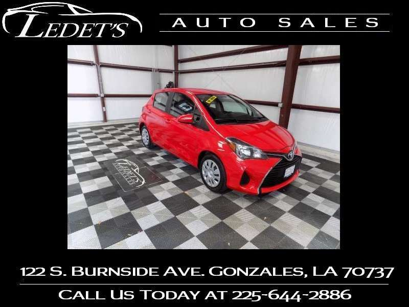 2016 Toyota Yaris L - Ledet's Auto Sales Gonzales_state_zip in Gonzales Louisiana