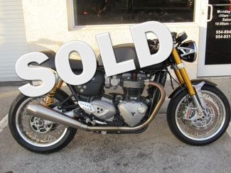 2016 Triumph Thruxton 1200 R in Dania Beach Florida, 33004
