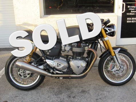 2016 Triumph Thruxton 1200 R  in Dania Beach, Florida
