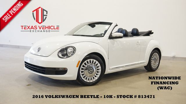 2016 Volkswagen Beetle Convertible 1.8T S AUTO,PWR TOP,HTD LTH,10K in Carrollton, TX 75006