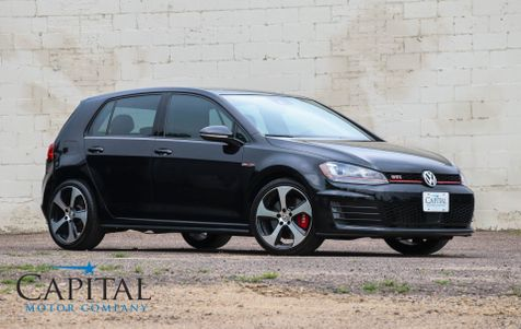 2016 Volkswagen Golf GTI Autobahn w/Performance Pkg, Driver Assist Pkg, Dynamic Chassis Control, Fender Audio System in Eau Claire