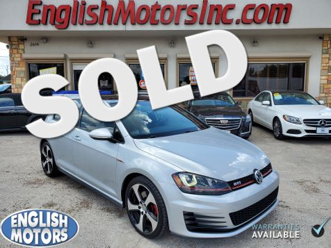 2016 Volkswagen Golf GTI SE in Brownsville, TX