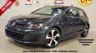 2016 Volkswagen Golf GTI SE w/Performance Pkg ROOF,BACK-UP,HTD LTH,25K! in Carrollton TX, 75006