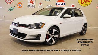 2016 Volkswagen Golf GTI S 6 SPD,BACK-UP CAM,HTD CLOTH,25K,WE FINANCE in Carrollton, TX 75006