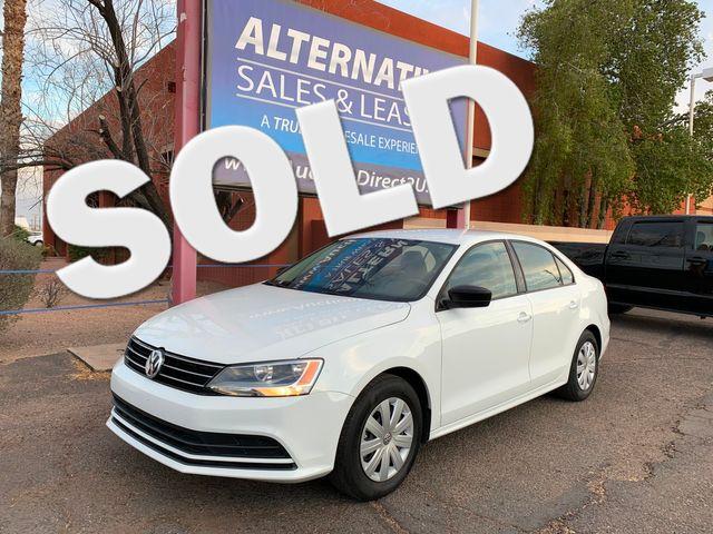 2016 Volkswagen Jetta 1.4T S 5 YEAR/60,000 MILE FACTORY POWERTRAIN WARRANTY Mesa, Arizona