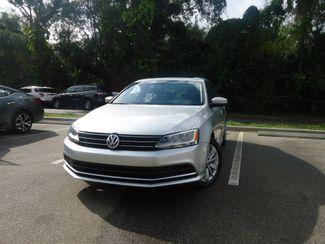 2016 Volkswagen Jetta 1.4T SE w/Connectivity. LEATHER. SUNRF. PUSH STRT SEFFNER, Florida