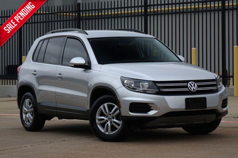2016 Volkswagen Tiguan S* Back Up Camera* Only 81k Mi* EZ Finance** | Plano, TX | Carrick's Autos in Plano TX