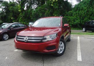 2016 Volkswagen Tiguan LEATHER. CAMERA. HTD SEATS SEFFNER, Florida