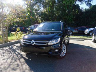 2016 Volkswagen Tiguan SE NAVIGATION. PANORAMIC. LTHR. APPLECARPLAY SEFFNER, Florida